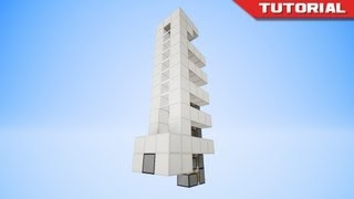 The Simplest Piston Elevator In Minecraft [SMP Friendly!] thumbnail