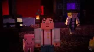 Minecraft story mode portugues