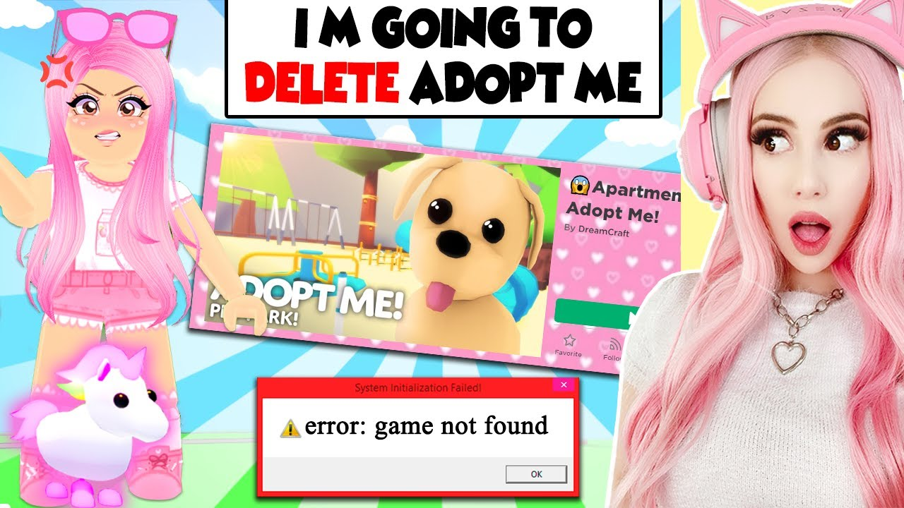 This Fake Leah Ashe Threatened To Delete Adopt Me Forever