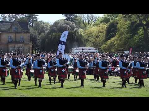 Field Marshal Montgomery Pipe Band - Ards & North Down Championships 2018 - Medley
