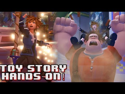 KINGDOM HEARTS 3 HANDS-ON DEMO - TOY STORY WORLD | Part 2
