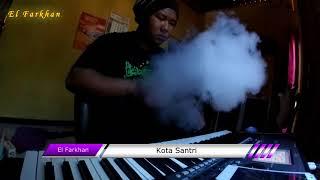 vuclip Kota Santri Karaoke Lirik cover by El Farkhan Kebumen