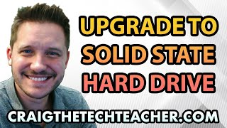 How To Upgrade Windows 7 To A Solid State Drive - Ep. 33