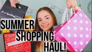Summer Shopping Haul | NYC Edition (try-on)