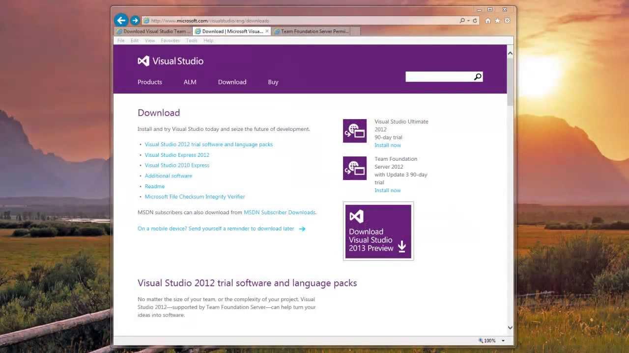 Team Foundation Server 2012 Tutorials - Express Installation