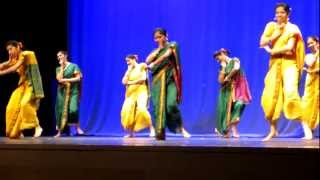 Live India Dance with Hindi Music song at Northeastern University in Boston  (Part1/3)