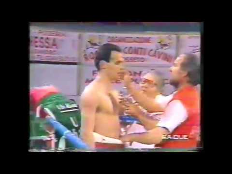 Александр Зайцев (Alexandr Zaitsev) Vs Giovanni Fattori. 1995. IBF Boxing