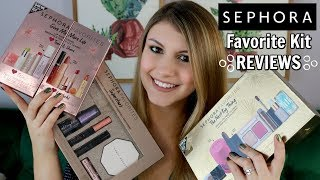 Unboxing and Comparing 100 of Sephora Favorites Kits