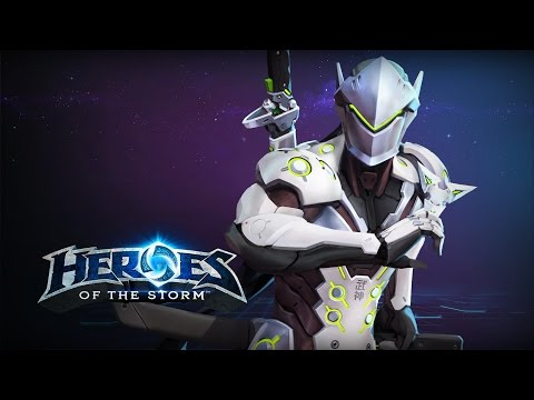 ♥ Heroes of the Storm - Sleepy Pally Plays Genji Perfectly Obviously