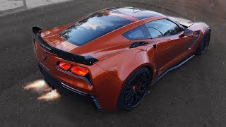 850 л.с. Chevrolet Corvette. Огнедышащий дракон