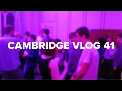Cambridge Vlog 41 | Party in Stephen Fry's Room