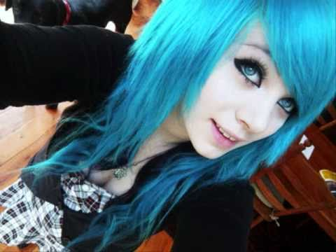emo scene hairstyles for girls youtube