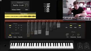 Logic Studio MainStage : Pink Floyd - Cirrus Minor - More (Hammond organ)