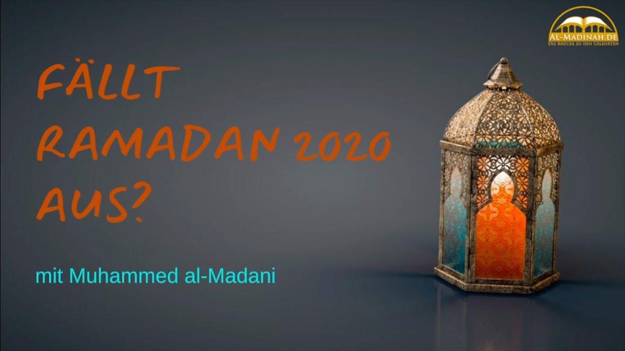 ramadan verschiebung