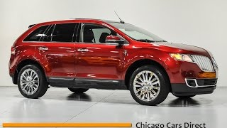 Chicago Cars Direct Reviews Presents a 2015 Lincoln MKX AWD Elite - 2LMDJ8JKXFBL20785