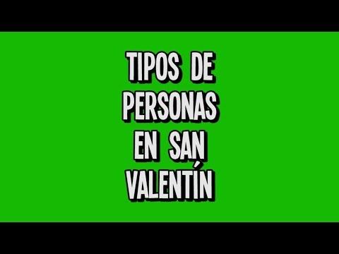Tipos de personas en San Valentin || @molinerd