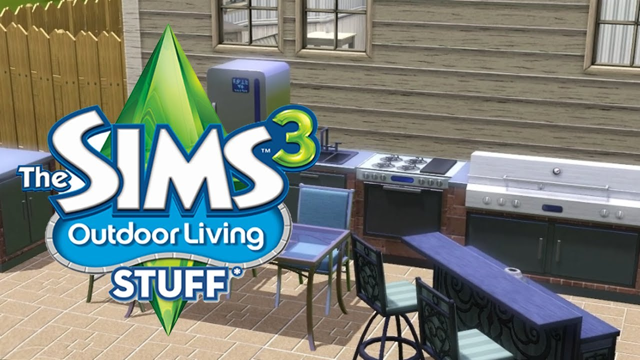 LGR - The Sims 3 Outdoor Living Stuff Pack Review - YouTube