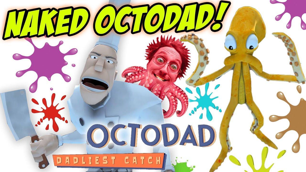 Fgteev Octodad Dadliest Catch Part 6 Naked Octopus Pc Face