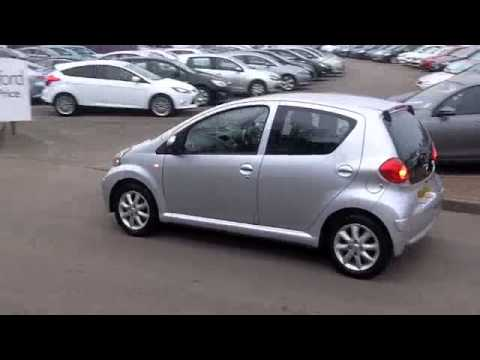 toyota aygo hatchback special editions 2008 1 0 vvt i platinum 5dr ac pk58xxu youtube. Black Bedroom Furniture Sets. Home Design Ideas