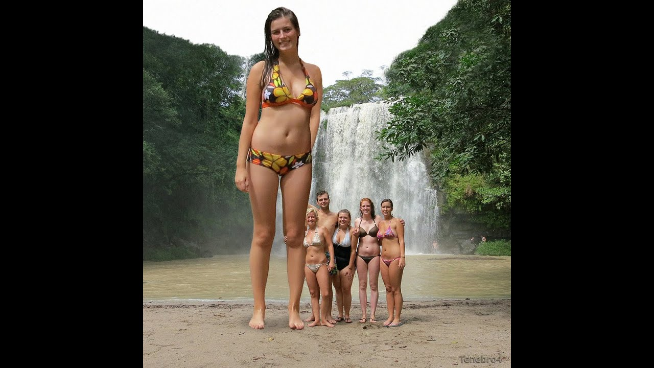 the tallest naked girl