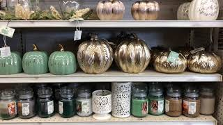 FALL SHOP WITH ME | BIG LOTS 2018 | HOME DECOR