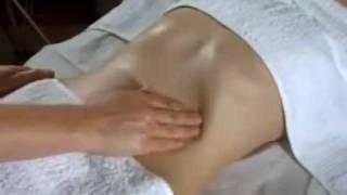 Правильный массаж живота