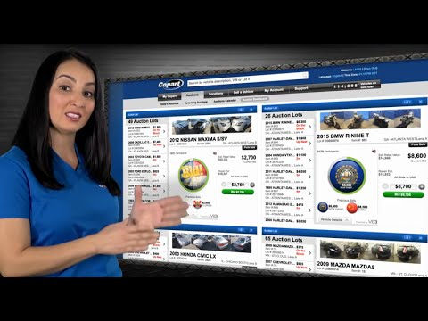 Intro To Copart: Global Online Auto Auctions
