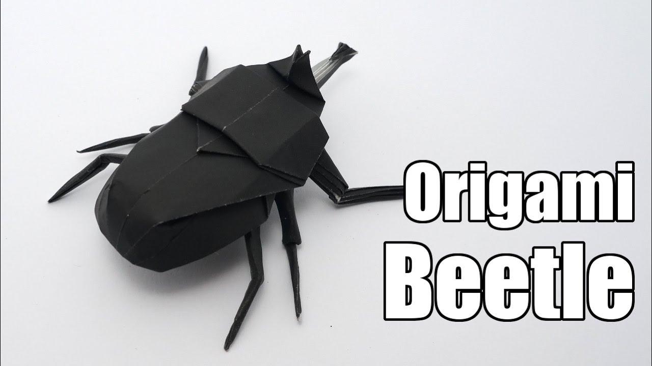 Origami Beetle Jo Nakashima