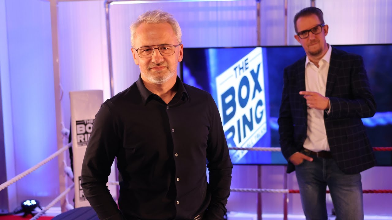 The Boxring met John Baekelmans