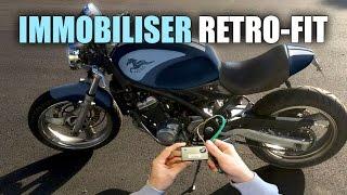 Motorcycle Immobiliser Retro-fit / Install - Kawasaki ZR250
