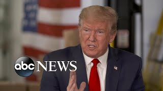 Muir discusses 1-on-1 with President Trump   ABC NEWS PRIME