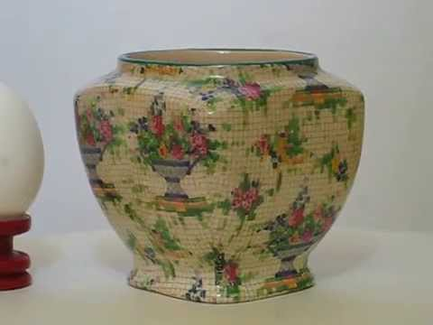 ROYAL WINTON  antique sugar bowl