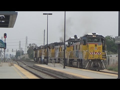 Railfanning Montebello / Commerce - 8/11/15