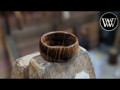 Making a Ring With Only Hand Tools