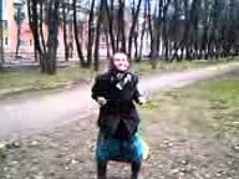 Бабка в бабоне видео
