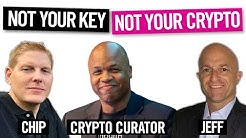 BTC - XRP - ETH - NOT YOUR KEYS - NOT YOUR CRYPTO - On The Chain