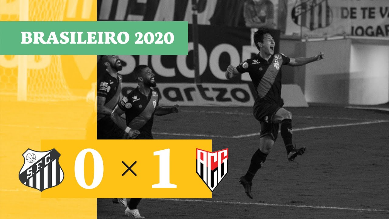 Сантос  0-1  Атлетико Гояниенсе видео