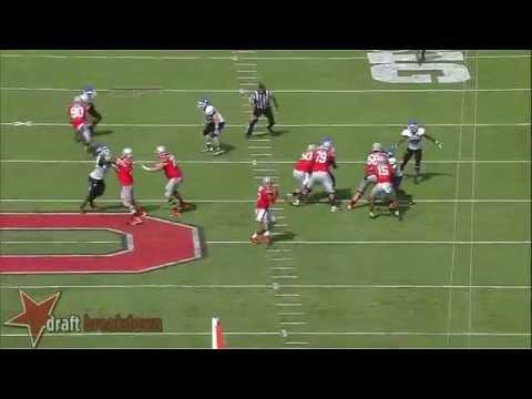 #46 Khalil Mack, OLB, Buffalo Vs Ohio ST '13