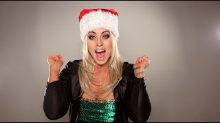 """Santa Baby"" - Celebrity Impersonations by Alisabeth Von Presley"