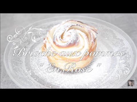 recette-:-brioches-en-forme-de-rose---aux-pommes--