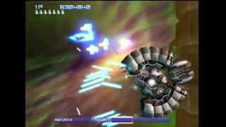 Gradius V (PS2) - 3 Loops Clear using Weapon Edit