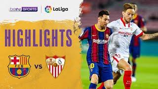 Barcelona 1-1 Sevilla | LaLiga 20/21 Match Highlights