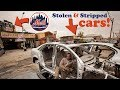 Cars Stolen from ⚾ Mets Baseball Citi Field go to Iron Triangle, Willets Point Chop Shops NYC
