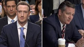 Ted Cruz Grills Facebook CEO Mark Zuckerberg Over Censorship, Liberal Bias (VIDEO + REACTION)