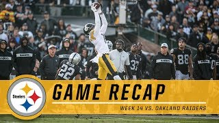 Steelers Tough Loss in Oakland | Game Recap