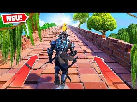 *NEU* TEMPEL RUN in Fortnite! (Extrem Schwer)