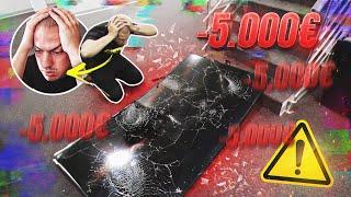 UNIŠTIO SAM TV OD 500.000 DINARA! *šteta 5000 evra*