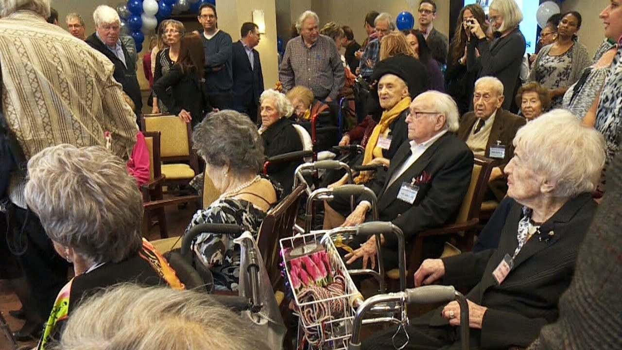 Young at heart: Meet the 20 centenarians at one seniors home