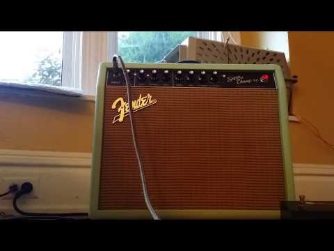 Craigslist Posting SG Guitar and Fender Amp