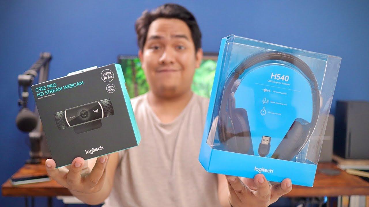 Meeting dan PJJ Jadi Lebih Profesional ft. Logitech C922 Pro Webcam & H540 Headset